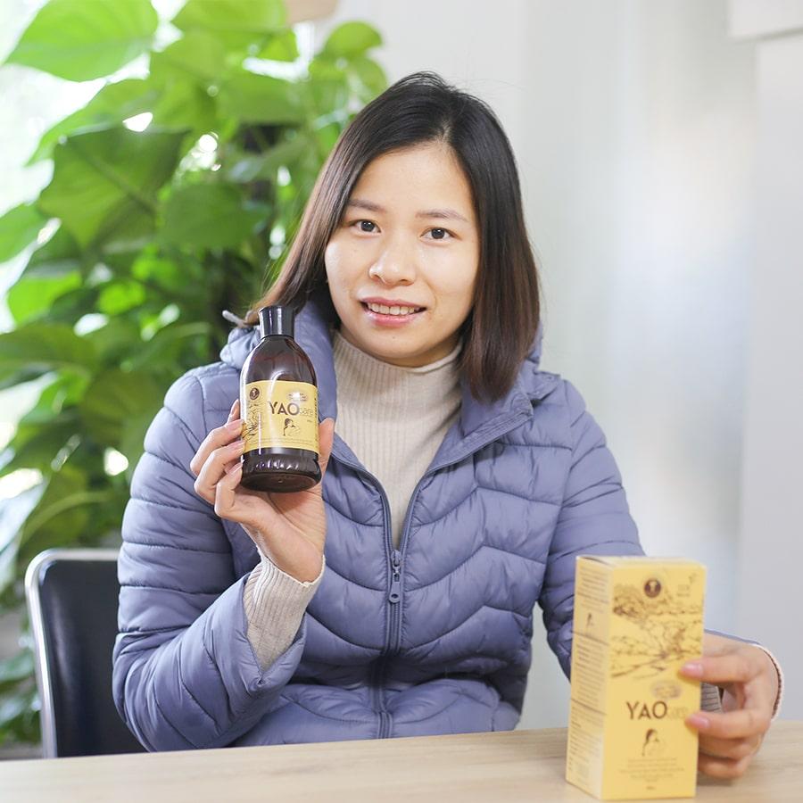 Chị Đinh Thị Trang - Hà Nội